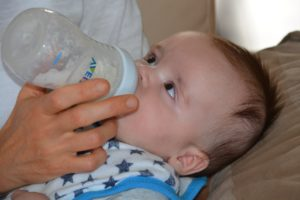 is warm formula easier for baby to digest